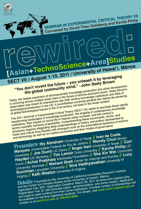 ReWired: Asian/TechnoScience/Area Studies
