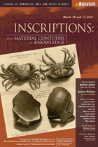 Inscriptions: The Material Contours of Knowledge