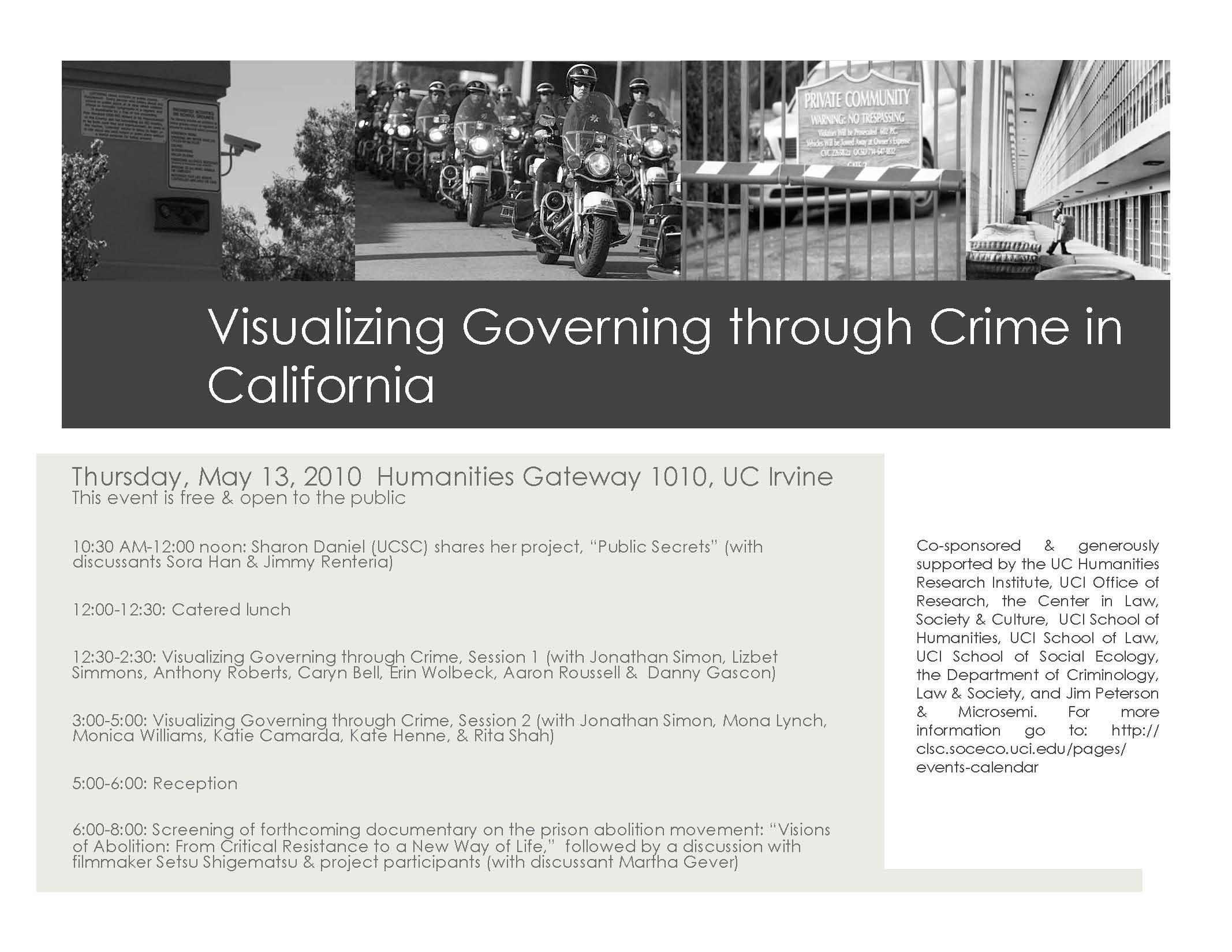Visualizing Governing through Crime in California