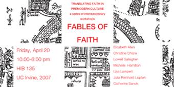 Translating Faith in Premodern Cultures<br />PI: