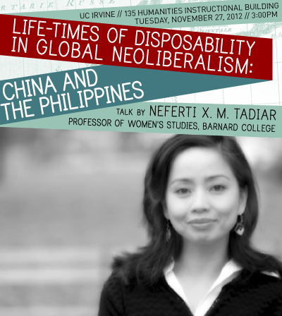 Life-Times of Disposability in Global Neoliberalism: China and the Philippines