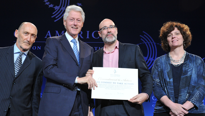 Digital Badging Announcement with Bill Clinton, HASTAC, Mozilla, and the MacArthur Foundation at CGI America