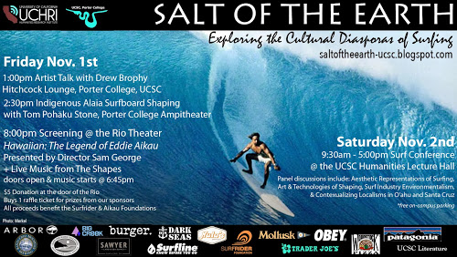 Salt of the Earth: Exploring the Cultural Diasporas of Surfing