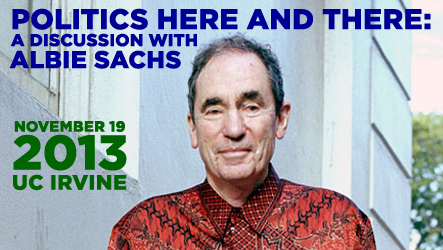 Politics Here and There: A Discussion with Albie Sachs
