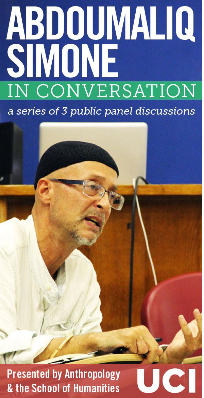 AbdouMaliq Simone: In Conversation