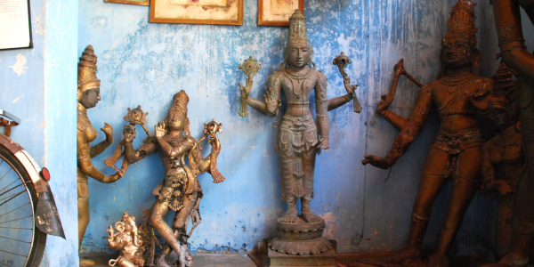 The Lost Wax: Discourse, Practice, and the Ethics of Being a Good Sculptor in Swamimalai, India<br />PI:
